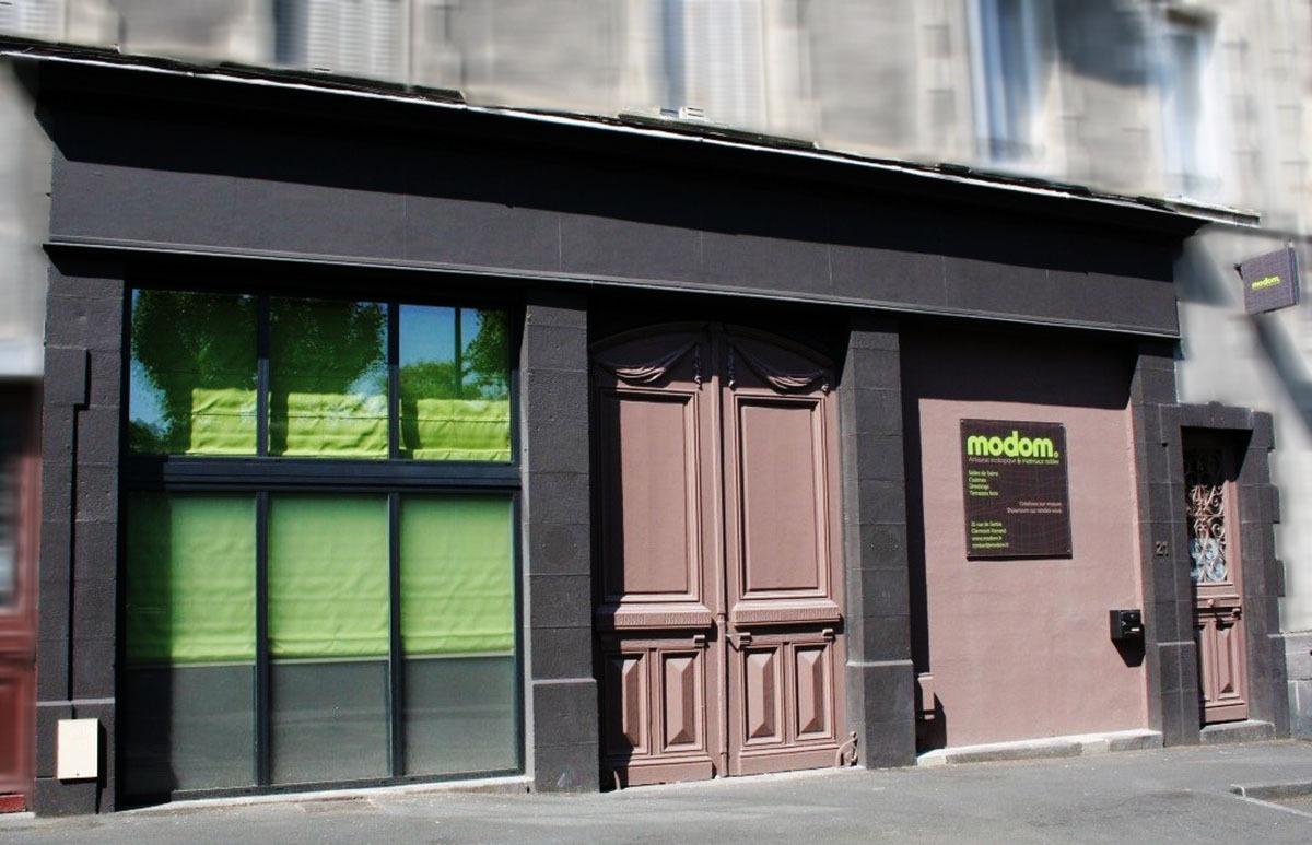 L'atelier Modom situé en plein coeur de Clermont-ferrand
