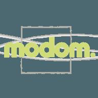 Nouveau logo Modom