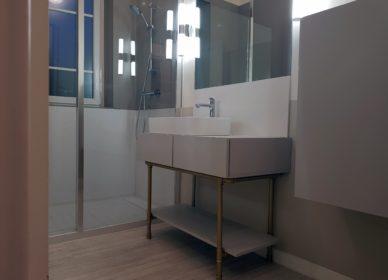 Salle de bains art déco