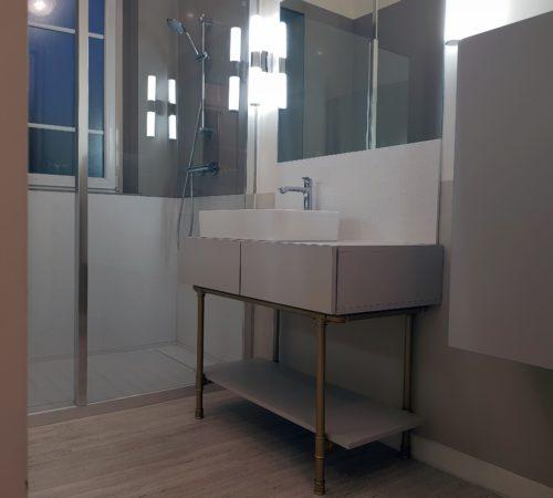 Salle de bains art déco - Modom