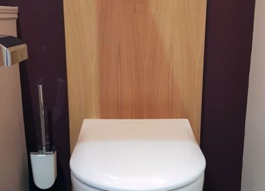 Cabinet de toilettes inspiration art déco