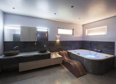 Salle de bain hammam et balnéothérapie