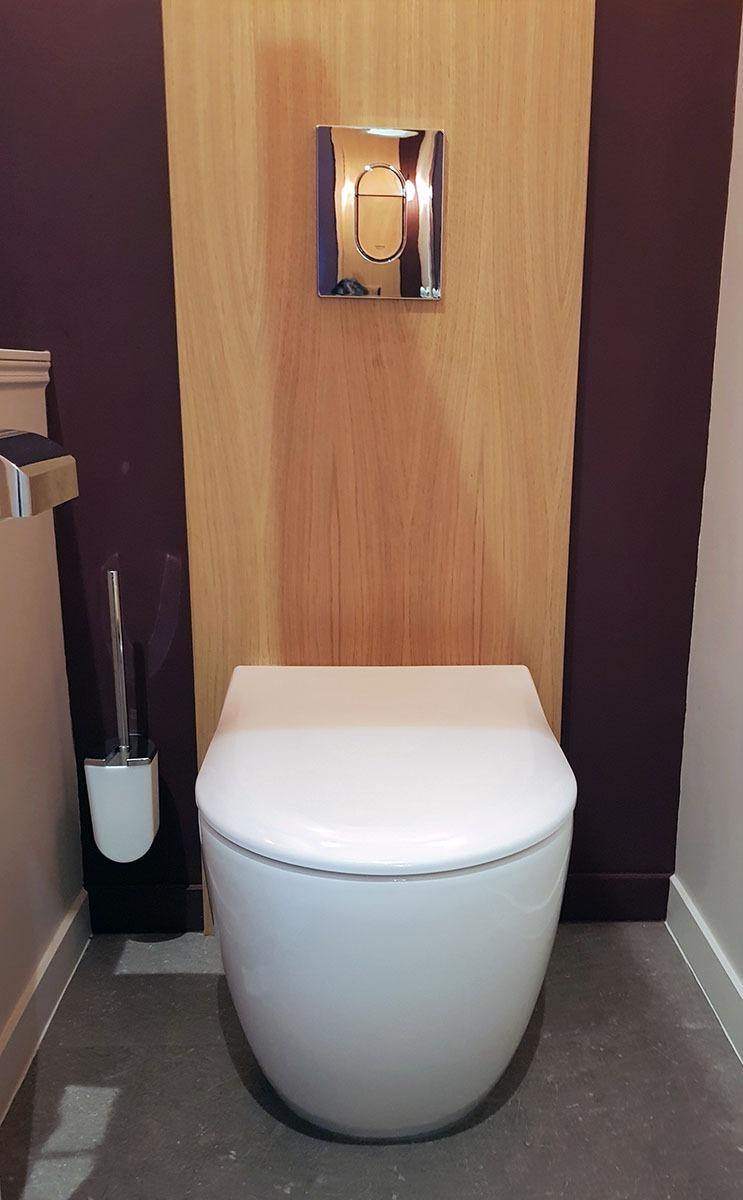 Lave Main Sur Wc Existant cabinet de toilettes inspiration art déco - modom